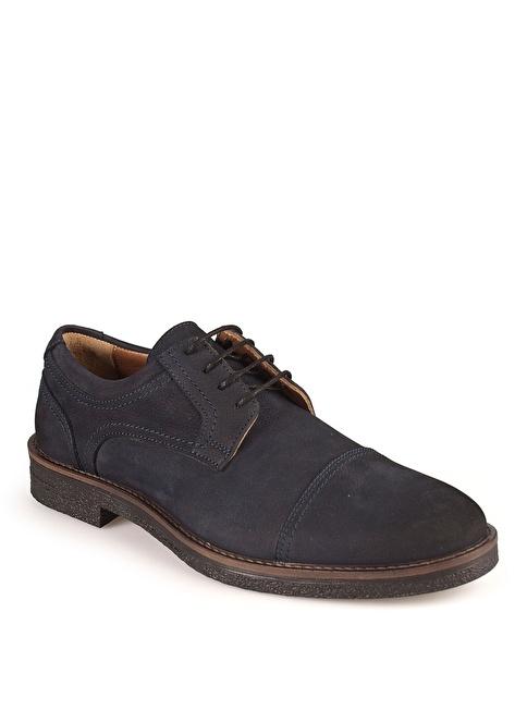 Matraş Bağcıklı Klasik Ayakkabı Lacivert